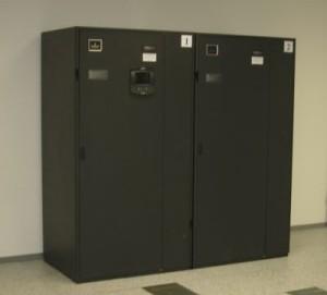 Przykład klimatyzacji precyzyjnej chłodzącej całe pomieszczenie serwerowni - InRoom