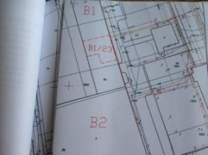 Fragment projektu budowlanego serwerowni