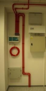 Przykład instalacji wczesnej detekcji dymu w serwerowni